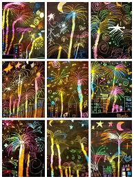 happy new year easy craft for a new year u0027s party get the scratch