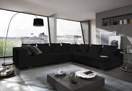 Wohnzimmer Sofa Sam Design Wohnzimmer Sofa Landschaft Amare In Schwarz 325 X 275