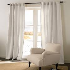 cotton linen 2 in 1 window panel curtains u0026 drapes brylanehome