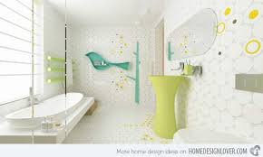 Colorful And Whimsical Kids Bathroom Home Design Lover - Funky bathroom designs