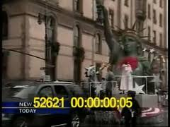 80th annual macy s thanksgiving day parade 2006 stock footage