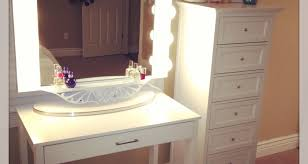 Makeup Vanity Jewelry Armoire Mirror Makeup Vanity With Drawers 8 Enchanting Ideas With