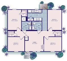 commercial building floor plans 1240 sq ft office building commercial buildings pinterest