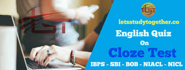 english quiz cloze test for sbi po prelims 2017 set u2013 12 u2013 let u0027s