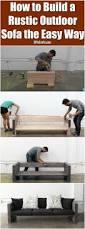 Diy Patio Furniture 933 Best Diy Images On Pinterest