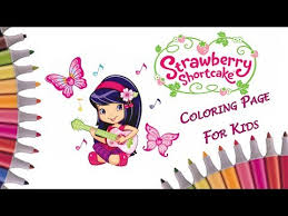 cherry jam coloring page strawberry shortcake coloring book