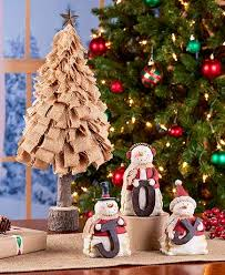 burlap christmas tree burlap christmas tree or snowmen set the lakeside collection