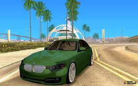 bmw stanced bmw 3 series f30 2012 stanced for gta san andreas
