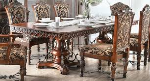 Formal Dining Table Rimini Traditional Formal Dining Table W Ornate Carvings And