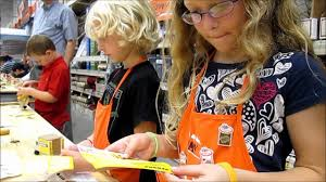 july 2012 home depot kids workshop youtube