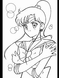 sailor venus coloring pages coloring