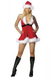 santa costume womens modern low cut fur christmas santa costume pink