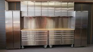 Garage Cabinet Set New 12 Piece Stainless Steel Garage Cabinet Set Uncle Wiener U0027s