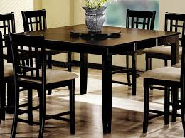 bar height round dining table square counter height dining table
