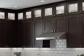 espresso kitchen cabinets with white quartz countertops cnc concord espresso kitchen cabinets premium durability