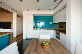 Kitchen Cabinet Design For Apartment Great Dining Room Design In Field Home Interior Wood Flooring