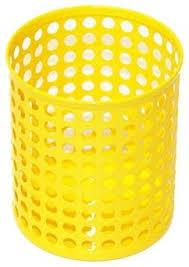 Matching Desk Accessories Design Ideas Yellow Edison Pencil Cup Contemporary Desk