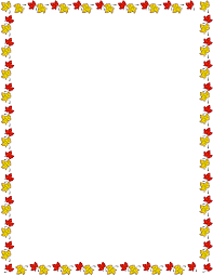 fall border fall leaves clip image clipartpost