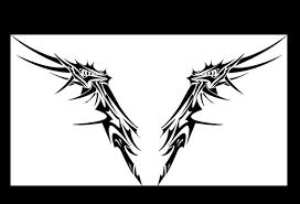 wing tribal by mordridfantastic on deviantart