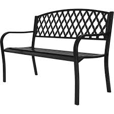 park bench 4 ft metal walmart com