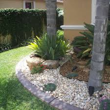 river rock garden ideas design within reach