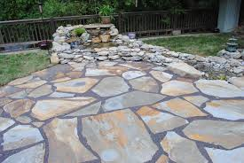 How To Make A Rock Patio by How To Make A Flagstone Patio Nice Patio Furniture Clearance On