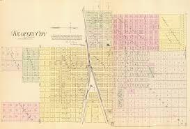 Union Pacific Route Map by Burlington Missouri River Railroad1