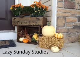 fall front porch decor like a saturday loversiq