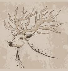deer u0026 sketch vector images over 2 000
