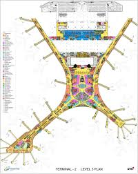Atlanta Airport Gate Map by Gallery Of Chhatrapati Shivaji International Airport Terminal 2