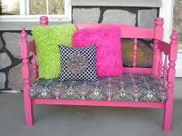 Bench Made From Bed Headboard 46 Best Benches Out Of Old Headboards Images On Pinterest Bed