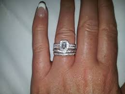 wedding ring with two bands best of two wedding bands around engagement ring ricksalerealty