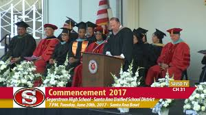 segerstrom high 2017 commencement ceremony june 20 2017