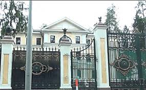 rublyovka yanukovych in moscow area has a smart mansion worth 50 million