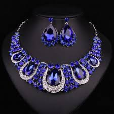 jewelry indian necklace images Fashion indian jewellery indian crystal necklace earrings bridal jpg