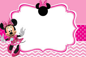 minnie mouse birthday party invitation template free free