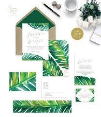 tropical wedding invitations 33 impressive tropical wedding stationary ideas weddingomania