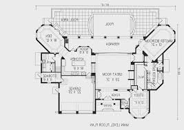 center courtyard house plans paleovelo com