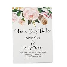 save the date wedding invitations save the date cards floral boho bohemian save the date wedding