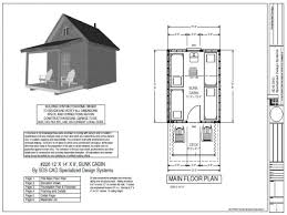 cabin designs free one room cabin plans