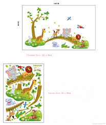 jungle wallpaper for nursery personalized nursery animals with