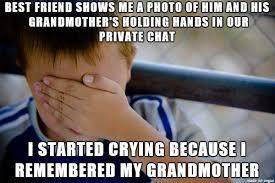 Meme Grandmother - i miss my grandma meme on imgur
