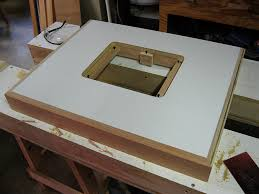 Woodworking Bench Top Thickness by Router Table Top Thickness Selecting The Best Router Table Top