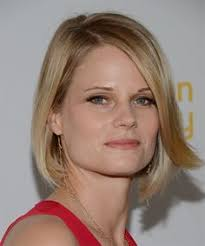 back of joelle carters hair joelle carter hairstyle this highlighted bob is blow waved to