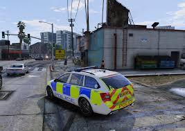 west midlands police 4k skoda octavia dog unit gta5 mods com