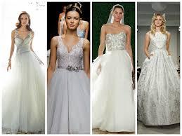 2015 trend alert metallic wedding dresses