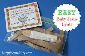easy baby jesus craft free printable jesus crafts happy
