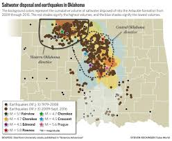 Tulsa Airport Map Oklahoma U0027almost Certain U0027 For Another Damaging Earthquake Risks