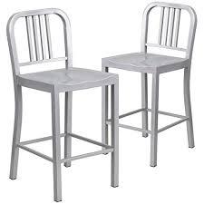 outdoor aluminum bar stools impressive aluminum bar stools on amazon com 14 zalifalcam