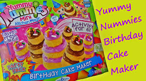 yummy nummies birthday cake maker overview by feelinspiffy youtube